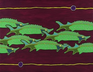 Sturgeons by Gordon Coons