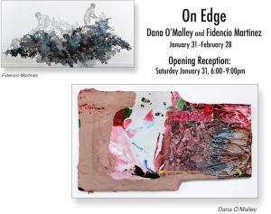 On Edge exhibit at Vine Arts