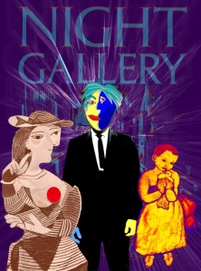 Night gallery poster