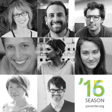 2015 / 2016 season playwrights at the Playwrights' Center.
