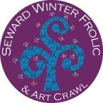 Seward Winter Frolic and art crawl logo 15