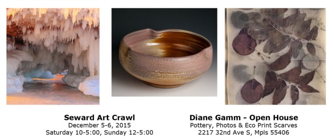 Diane Gamm Art Crawl 2015