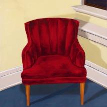 Red chair: Treden Wagoner