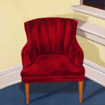 Red chair: Treden Wagoner