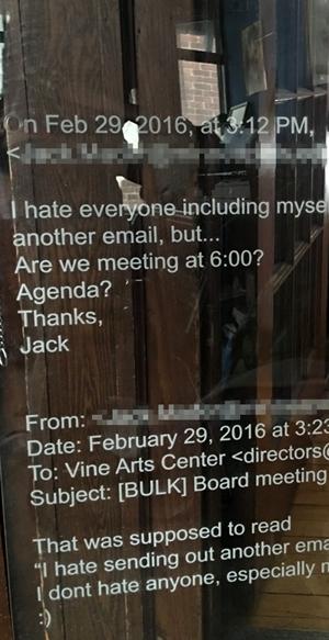 Vine Arts Center show