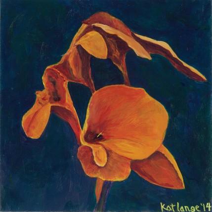 Orange Iris: Kat Lange