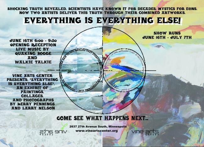 Vine Arts Center flyer