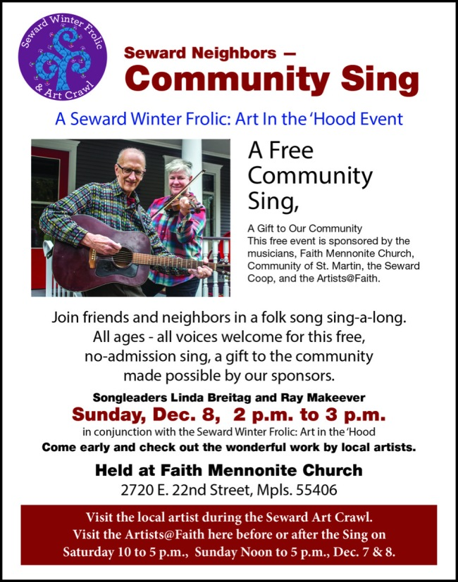COMMUNITY SING FAITH