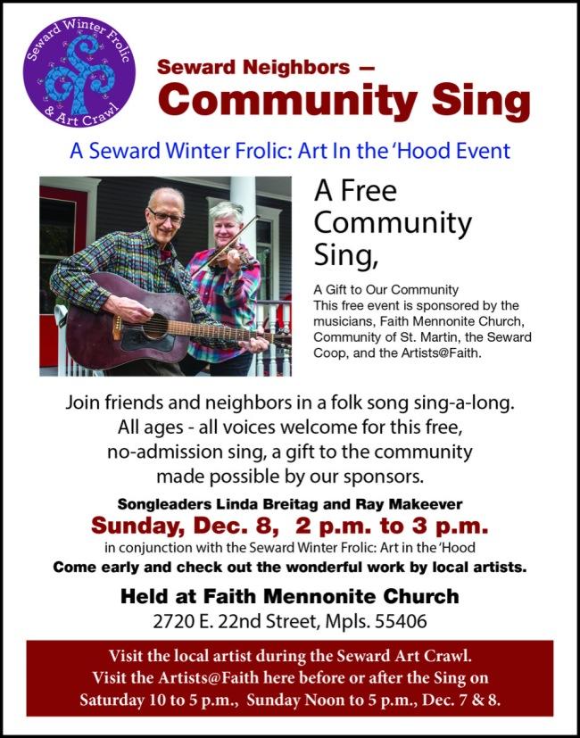 COMMUNITY SING FAITH