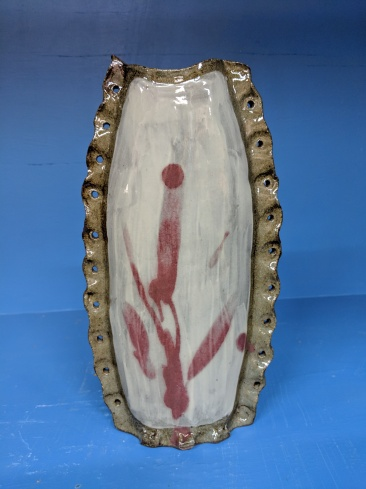 peter D'Ascoli Vase, tacked together